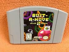 Bust a Move 2 Bust-a-move Nintendo 64 N64 Super *Cart Only* FREE SHIP!