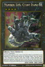 PGL3-EN075 - NUMBER 106: GIANT HAND - GOLD RARE CARD 1st ed.