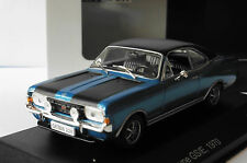 OPEL COMMODORE A COUPE GS-E BLUE 1970 BLACK ROOF WHITEBOX WB057 1/43 BLAU BLEU