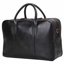 Leathario Real Leather Mens Business Briefcase Laptop Shoulder Bag