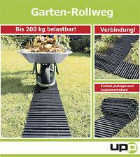 UPP® Gartenplatten / Rollweg / Beetplatten / Gartenweg / Beet / Rasen 30x150cm