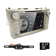 "8"" Toyota Camry 2007-2011 GPS Navigation Car Radio Stereo DVD Player+Back Camera"