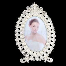 4x6 Picture Frames Oval Picture Frame Pearl Crystal Frames Birthday Gift