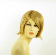 short wig for women smooth golden blond ref ROSY 24B PERUK