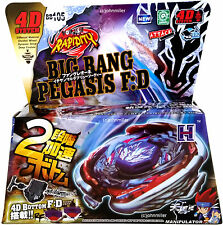 Big Bang Cosmic Pegasus Metal Fusion Fury Masters Beyblade Set w Launcher NIP