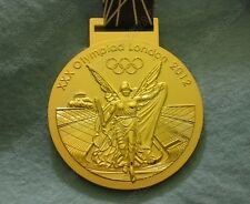 London 2012 Olympic Winners Gold Medal with Ribbon 1:1 Full Size