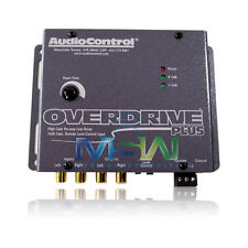 NEW AudioControl® OVERDRIVE PLUS CONCERT-SERIES CAR AUDIO 24dB GAIN LINE DRIVER