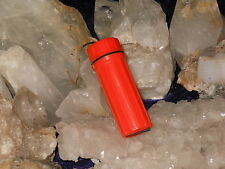 ORGANIC LIGHTER BRIGHT ORANGE WATERPROOF HEMP WICK DISPENSER WITH 21+  FEET