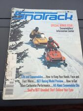 Feb 1976 SNOTrack snowmobile magazine Ski Doo Sonic COVER Arctic Cat Polaris