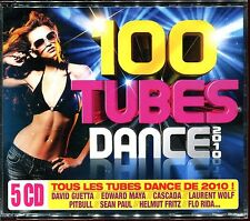 100 TUBES DANCE 2010 - 5 CD COMPILATION NEUF ET SOUS CELLO