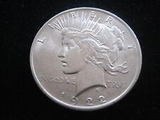 """MDS USA ONE DOLLAR 1922 """"PEACE-DOLLAR"""", SILBER #60"""