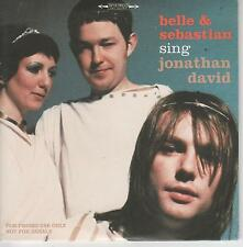 BELLE & SEBASTIAN - Jonathan David - Rare 2001 UK 3-track CD - FREE UK SHIPPING