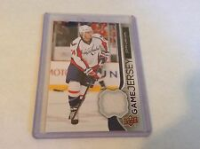 14-15 2014-15 UPPER DECK JOHN CARLSON UD GAME USED JERSEY GJ-CA CAPITALS