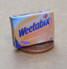 1:12 Scale Empty Weetabix Packet Dolls House Miniature Kitchen Food Accessory