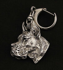 Great Dane, Deutsche Dogge, Grand Danois, keyring, porte-clé de chien, ART- DOG