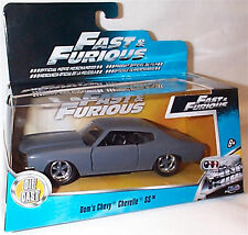 Fast & furious  Dom's Chevy Chevelle SS Matt Grey 1-32 Mint boxed new