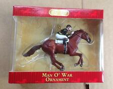 BREYER Man O' War Ornament #700662 race horse thoroughbred [--]