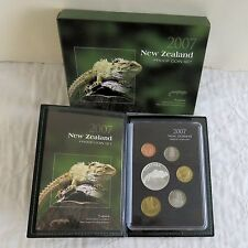 NEW ZEALAND 2007 6 COIN TUATARA PROOF YEAR SET - complete