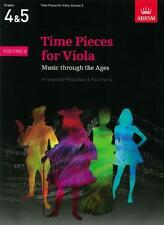 Time Pieces for Viola, Volume 2, Bass & Harris AB2556
