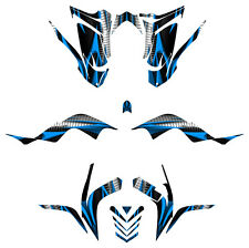 Raptor 700 R Graphics Yamaha Kit 2006 2007 2008 2009 2010 2011 2012 #1900-BLUE