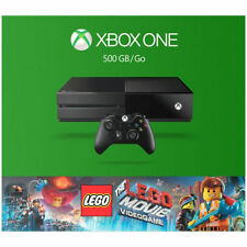 Microsoft Xbox One The LEGO Movie Videogame Bundle 500 GB Black Console