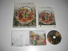 CULTURES 1 Pc Cd Rom Original BIG BOX - FAST , SECURE POST