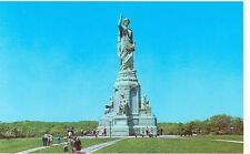 PLYMOUTH,MASSACHUSETTS-NATIONAL MONUMENT-THE FOREFATHERS-(MA1724D)(STATUE-294)