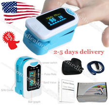 US OLED Finger Tip Pulse Oximeter SPO2 Blood Oxygen Heart Rate Monitor FDA OCH