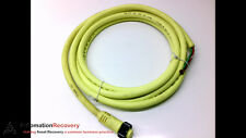 BRAD HARRISON 103000C01F120 CORDSET 3 POLE FEMALE STRAIGHT 12 FEET, NEW #123742