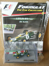 "Panini F1 Car collection ""LOTUS 25 -1963 JIM CLARK"". Scale 1:43. New & Sealed"