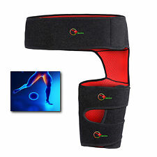 Groin hamstring support brace strap for groin pain strains tears pulls injuries