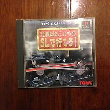 SL de Ikou! Train Sim (PS1 / PS3 / PlayStation 1 / 3, 1998) -[NTSC-J]- RARE