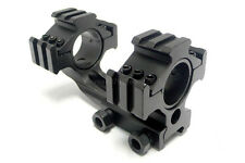 One Piece See-Thru Tactical 25mm/30mm Tri-Rail Picatinny Scope Mount M4408