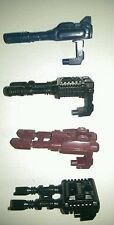 Transformers G1 Vintage Stunticons car cannons