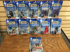 Lot of 11 * Star Wars COLLECTION Action Figures TAUN WE REBEL TROOPER ORN FREE