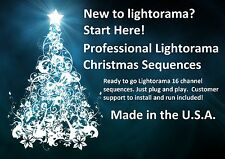 Light O Rama 16 channel Sequence. Professional  LOR Christmas . $20.00 each!