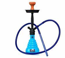 Shisha 4 Stars 410 PMB Blue Qualitäts-Wasserpfeife