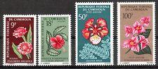 Kamerun  Michelnummer 463 - 464,467 - 468 postfrisch (intern:Pflanzen 37)