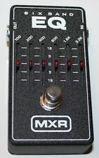 MXR Effect Pedal, 6-Band Graphic EQ M109, Brand New,