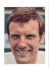 PAUL MADELEY LEEDS UNITED 1963-1981 ORIGINAL HAND SIGNED PICTURE CUTTING