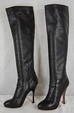 SUPPER BEAUTIFUL!!! PRADA HIGH HEEL PLATFORM OVER THE KNEE BOOTS EU 39.5 US 9