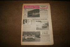 Motoring News 5 June 1975 Acropolis Rally Nurburgring 1000kms Niki Lauda Jensen