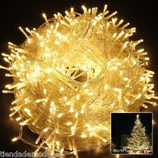 500Leds 328FT Warm White String Fairy Lights Lighting For Christmas Tree Wedding