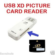 XD Picture Memory Card Reader Writer Adapter USB 2.0 For Olympus Fujifilm Kodak