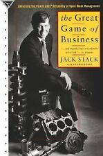 The Great Game of Business, Jack Stack, Bo Burlingham, Good Condition, Book