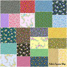 """SQ115 Andover LITTLE HOUSE ON THE PRAIRIE Precut 5"""" Charm Pack Fabric Squares"""