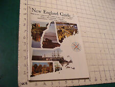the NEW ENGLAND GUIDE annual 1964-65; 156pgs