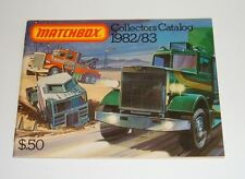 Matchbox Toys, Catalogue Dated 1982/83, - Superb