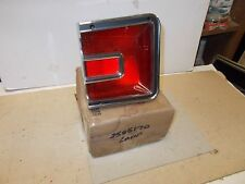 Mopar NOS Tail Lamp Assy. Outer on Qtr.Pnl. Rt. 66 Dodge Coronet Station Wagon