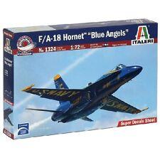 ITALERI F/A - 18 HORNET BLUE ANGELS 1:72 MODELLBAUSÄTZE 1324 NEU/OVP